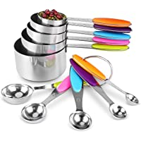 Deals on Tbrand Measuring Cups and Spoons Set