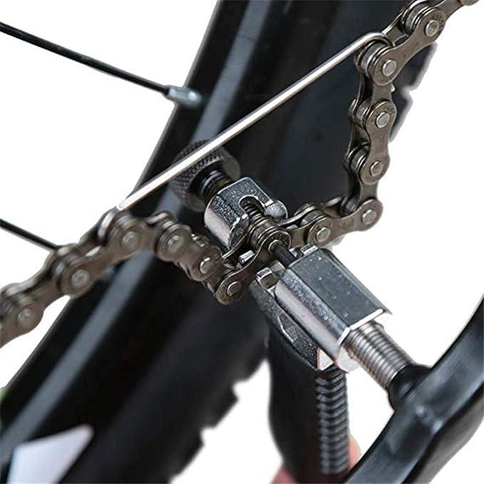 ZHIQIU FSC - Cadena para Bicicleta (6,7, 8 velocidades, 116L ...