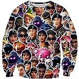 YX GIRL 3D Hoodies Unisex 3D Printed Hoodie Pockets Hoodie (S/M, Sweatshirts)