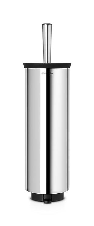BRABANTIA Toilettenbürste mit Halter Matt Steel