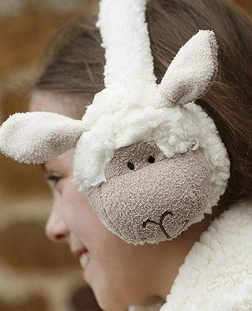 Jomanda Childrens Super Soft Sheep Earmuffs Cream