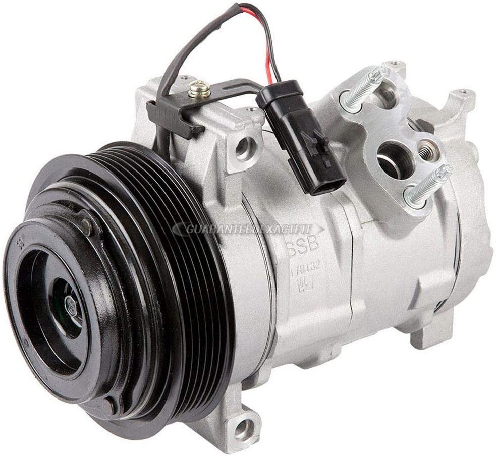 BuyAutoParts 60-80397RK New For Chrysler 300 /& Dodge Magnum Charger AC Compressor w//A//C Repair Kit