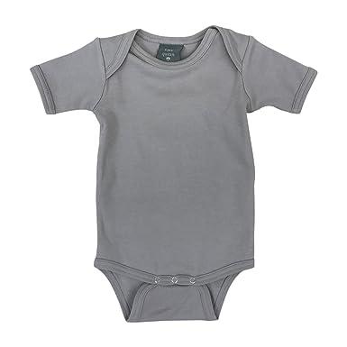 6ff0861432c Amazon.com: Kate Quinn Organics Unisex-Baby Short Sleeve Lap Neck Bodysuit,  18-24M (Chateau): Clothing