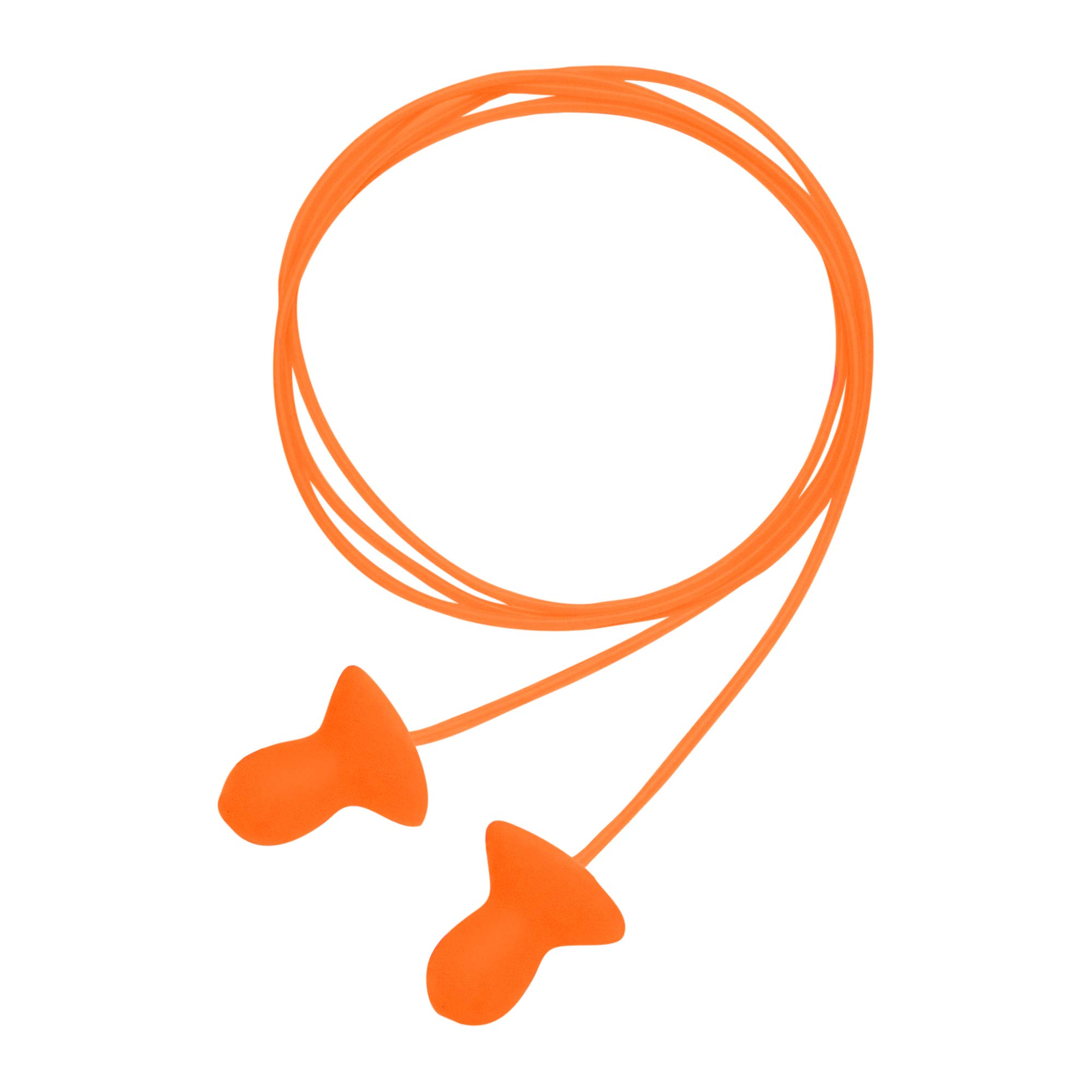 Howard Leight by Honeywell Quiet Corded Reusable Earplugs, 100 Pairs (QD30)