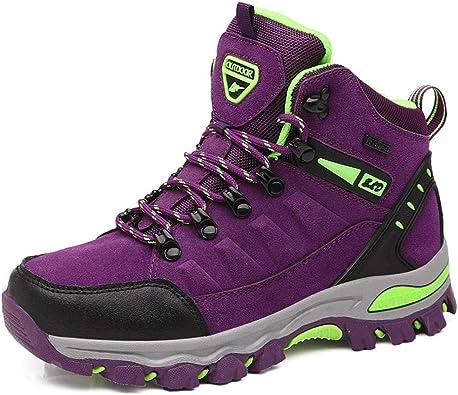 UUFLYME Hiking Boots Women Non-Slip