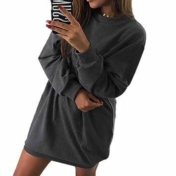 Vestidos ursing Mode Mujer o de recorte vestido manga larga capucha sudadera Otoño Ropa streetwear Long