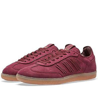 Adidas Womens Samba W Maroon Suede Size 6