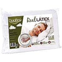 Travesseiro de Látex Capa 100% algodão Dry Fresh - Duoflex - 100% Látex - 50 x 70 cm