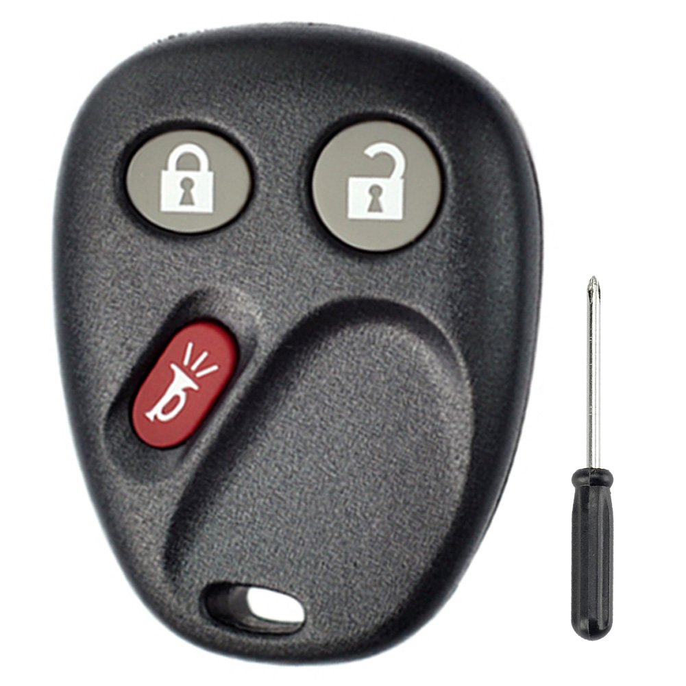 LHJ011 For GM GMC Chevy 3 Buttons Remote Case (GM 15186201 CANADA:109G 12021 FCC/ID LHJ011) Automotive 6237007