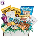 Gluten-Free Dairy-Free Healthy Snacks Assortment includes: [1] Munk Pack Oatmeal Fruit Squeeze 4.2 oz. [1] Mamma Chia Squeeze Vitality Snack 3.5 oz.[1] Munk Pack Protein Cookie 2.96 oz. [2] Hippeas Organic Chickpea Puffs 1 oz. [1] Nature's Bandits O...