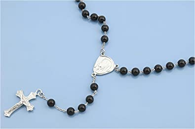 Italian Chain, Bead 250 Jewelry Gift for Women and Girls Glitzs Jewels 925 Sterling Silver Necklace