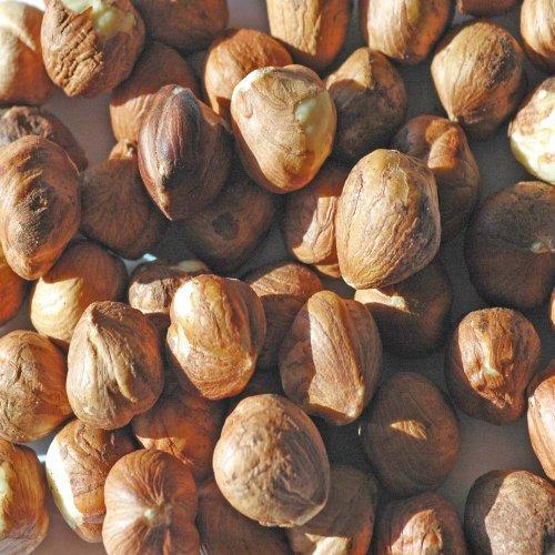 Indus Organics Jumbo Turkish Raw Hazelnuts, Sulfite Free, Salt Free, Premium Grade, Freshly Grade