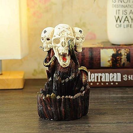 DKfg Resin Incense Burner Waterfall Back Incense Burner Burner Home Decoration Aromatherapy Decoration