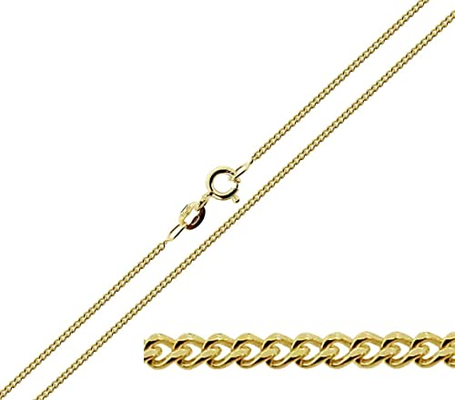 GOLD CHAIN 18CT GOLD ON STERLING SILVER