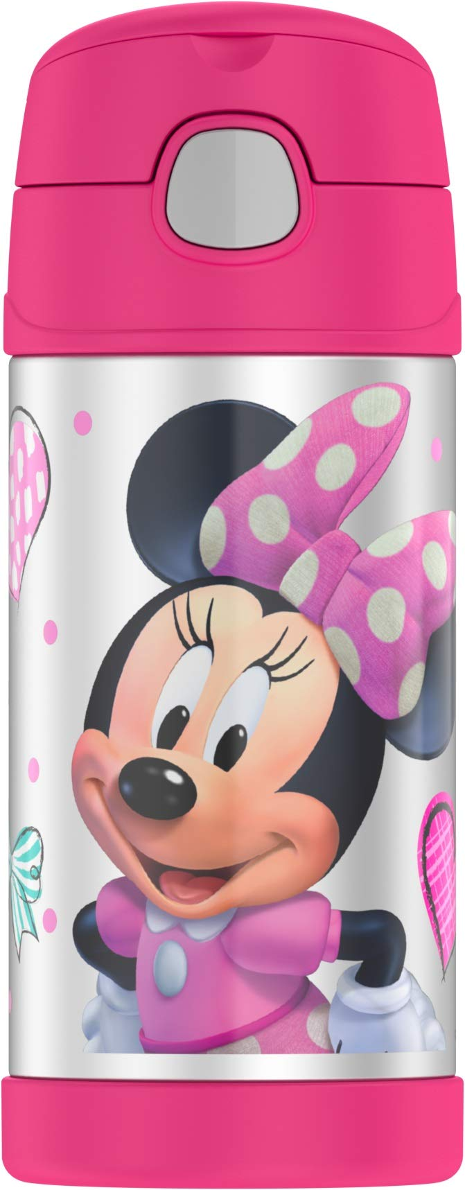 Thermos Funtainer 12 Ounce Bottle, Minnie Mouse by Thermos