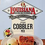Louisiana Fish Fry Southern Fruit Cobbler Mix 2lb Package - Makes 10 8oz Servings