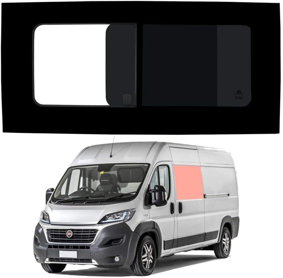 Mano izquierda ventana abatible para puerta corredera, tintado oscuro Fiat Ducato (2006 on) [L2, L3, L4]: Amazon.es: Coche y moto