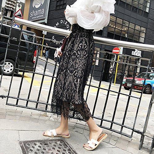 Heelinna Apricot As Confortable de en Demi Jupe Jupe plisse shown Unique Taille Couleur Mousseline Soie Taille fgpRxfqr