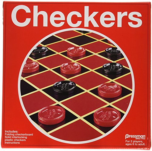 Checkers and Checkerboard Board Game