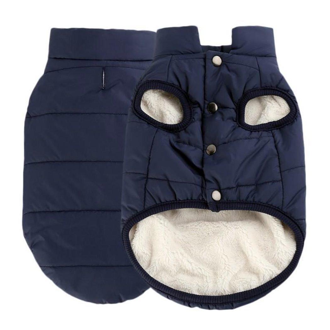 mioim Hundemantel Hundejacke Hund Warm Fleece Winter Hundeweste Hundebekleidung Kostüm für Kleine und mittlere Hunde DEHAZ*236810818