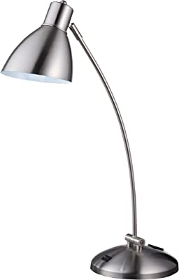 OK Lighting OK632EA4SP3 Touch Lamp with EagleTheme, 23.5