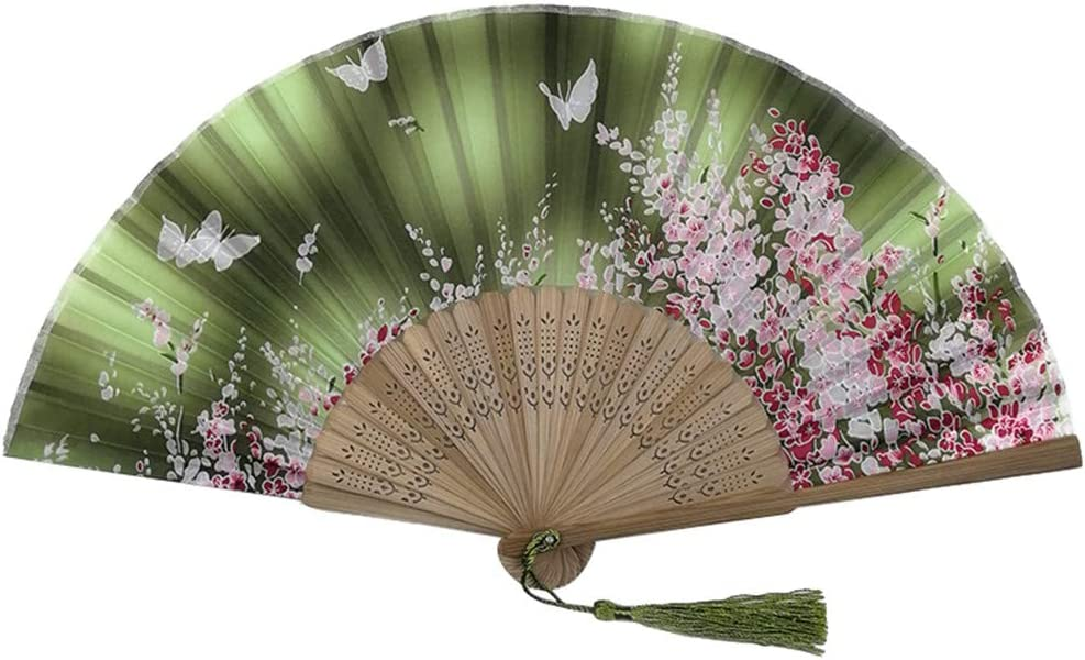 A NszzJixo9 Folding Fans Handheld Bamboo Womens Hollowed Hand Holding Fan Chinese Traditional Hollow Wooden Made Exquisite Wedding Gift
