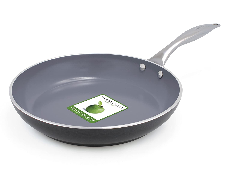 GreenPan Venice - Sartén Aluminio Gris, Aluminio, Gris, 24 cm: Amazon.es: Hogar