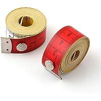 Milisten 2 Pcs Fita Métrica Flexível Fita Régua Flexível Portátil Ferramenta de Medição de Alta Precisão para Costura…