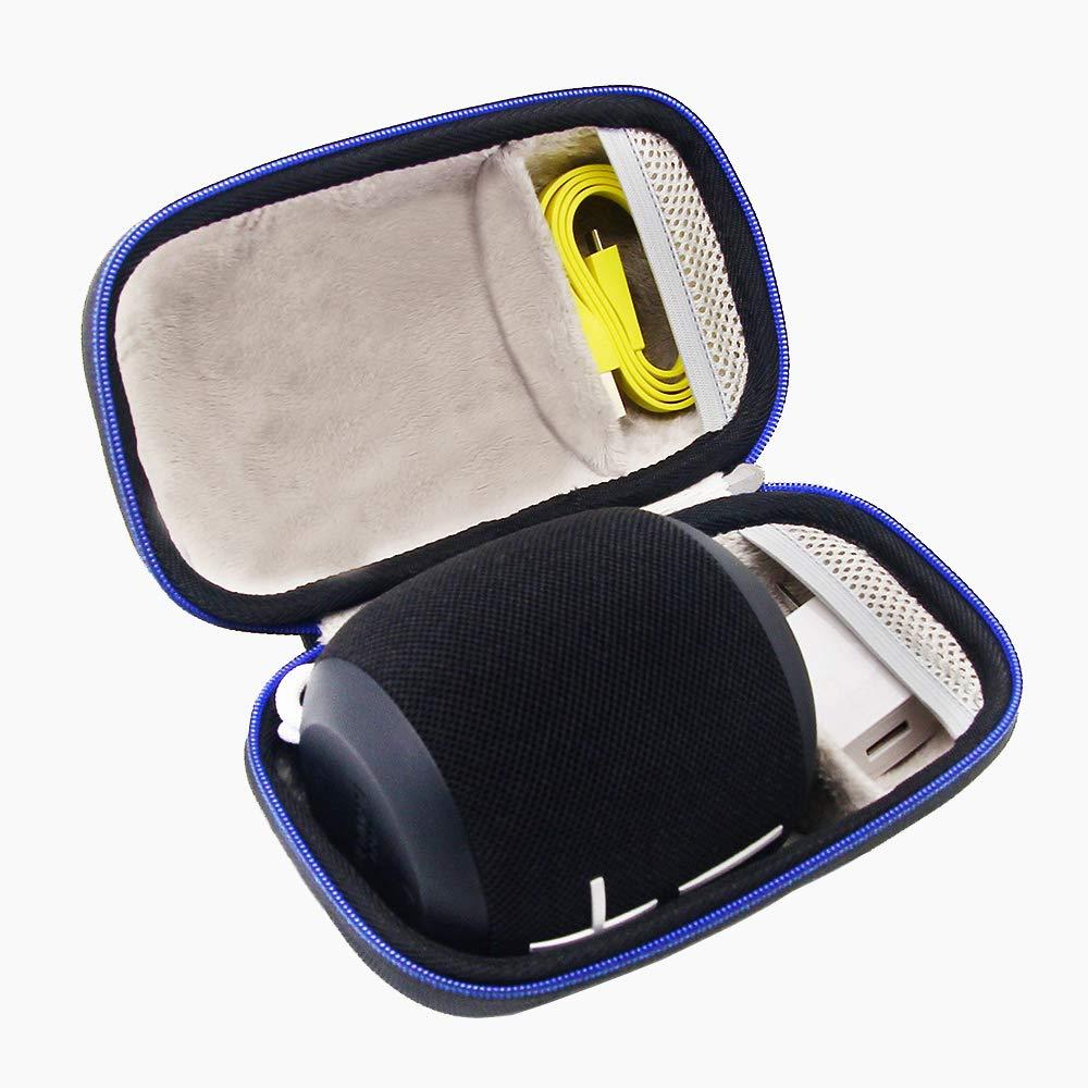 Duro Viaje Estuche Bolso Funda para Ultimate Ears WONDERBOOM - Altavoz inalámbrico Individual, Bluetooth por GUBEE (Azul)