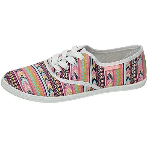 ZAPATOP BE-10059 Zapatilla DE Lona Mujer Zapatillas: Amazon.es: Zapatos y complementos