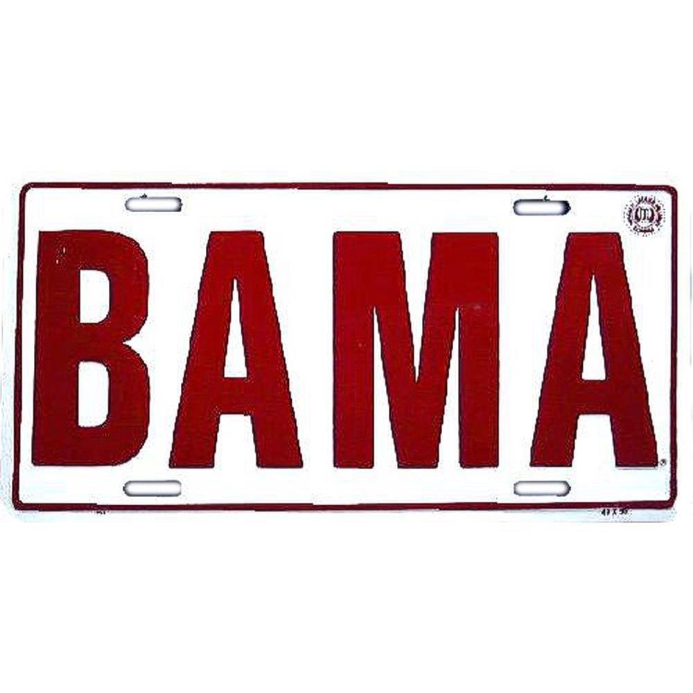 Signs 4 Fun SLC401 Alabama Bama License Plate