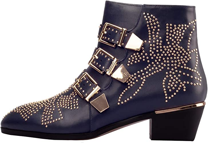 Comfity Studded Boots for Women, Women