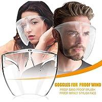 Óculos de segurança Face_Shield_Goggles, óculos de proteção para o rosto dos olhos