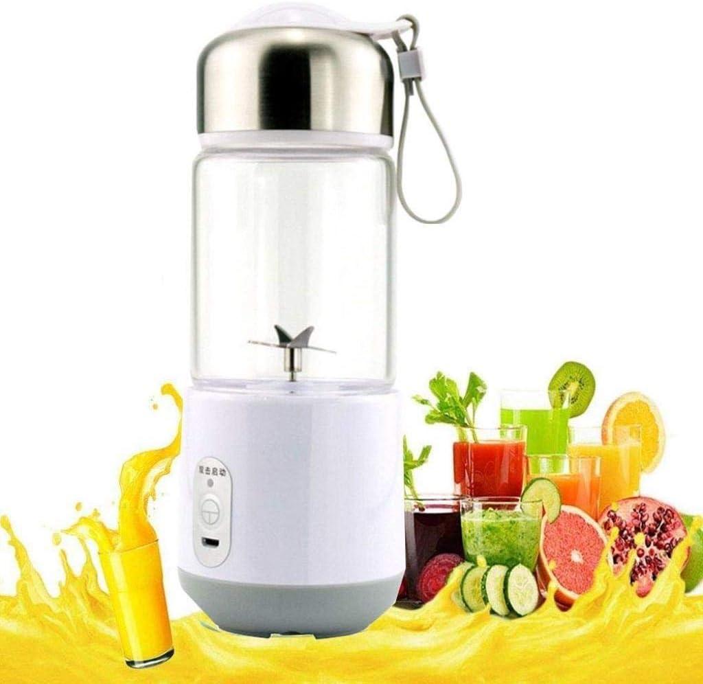 Yqzq Licuadora portátil Fruit Juicer USB Electric Juice Cup for ...