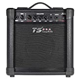ammoon GM-515 Professional 3-Band EQ 15W Electric Guitar Amplifier Amp Distortion with 6.5'' Speaker