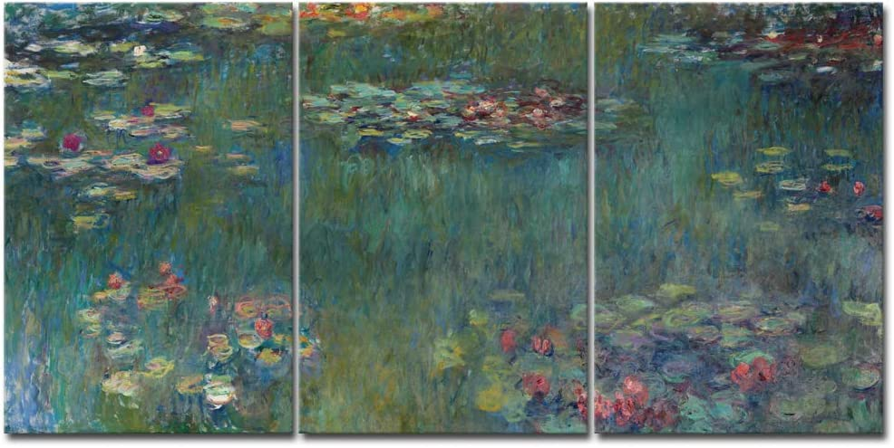 Monet Water Lilies Framed Print Picture Poster Painting Art Van Gogh Dali