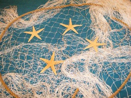 6 x 9 Angeln Net Netz Display Seil Vier Seestern Strand Thema von Florida Netze