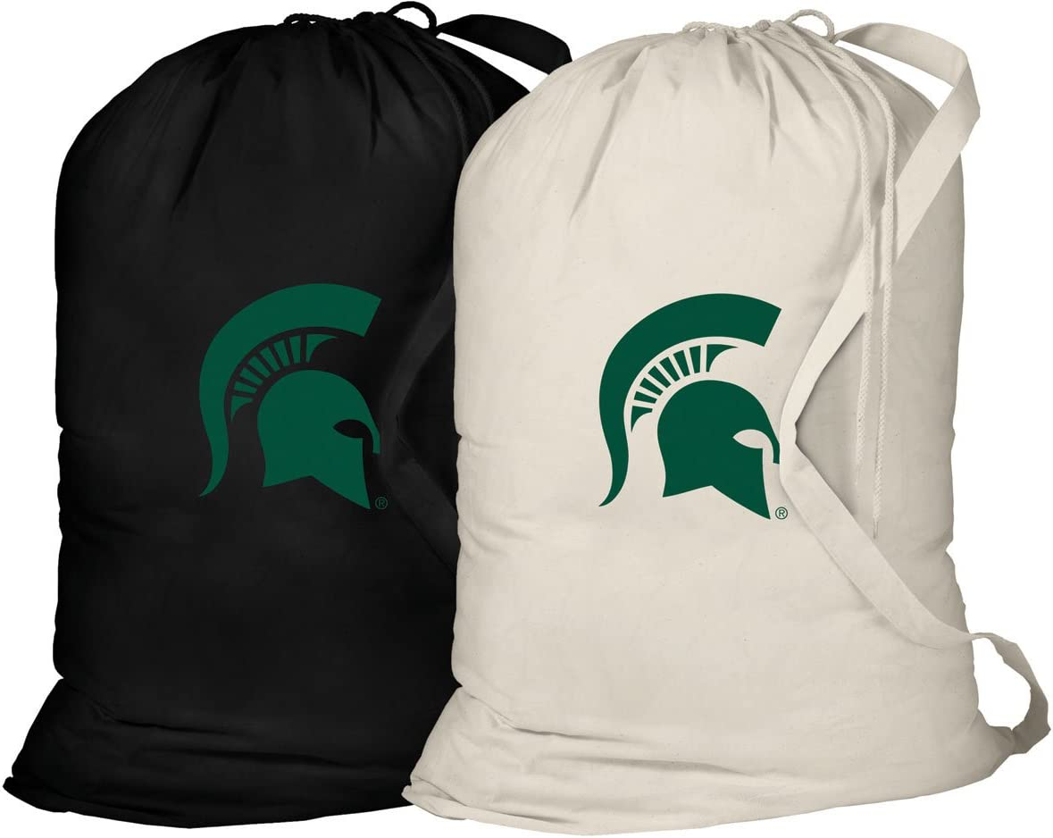 Broad Bay Michigan State Laundry Bag -2 Pc Set- Michigan State Clothes Bags