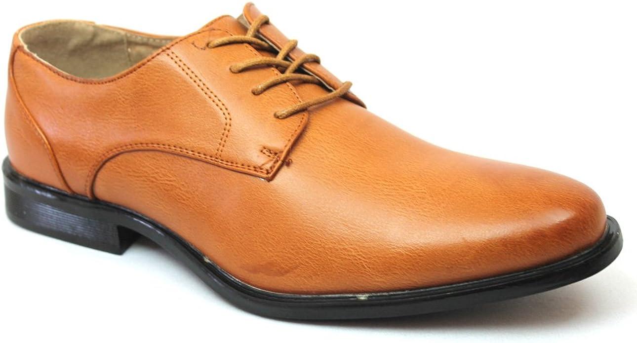 Coronado Wing Tip Cognac Dress Shoes