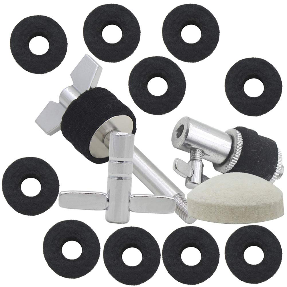 Healifty Tambor Platillo Pad Drum Key Step Martillo Pad Tornillo Colgante Clutch Drum Kit de Accesorios 5 en 1 (Negro): Amazon.es: Hogar