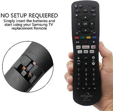 MYHGRC El mando a distancia universal TV es compatible con el mando a distancia de casi todas las marcas de TV Apto para Samsung, LG, Sony, TCL, Sky, Hisense, Sharp, Philips, Toshiba,