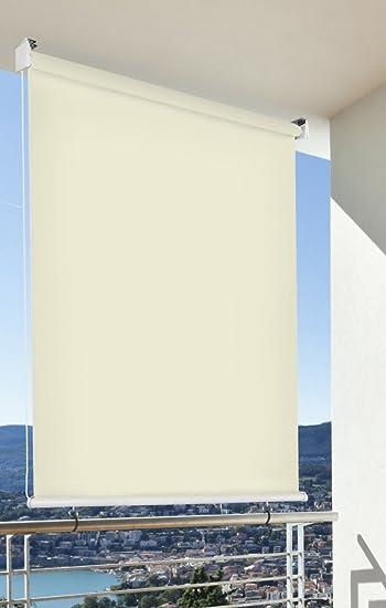 Amazon De Balkon Sichtschutz Balkon Markise Balkon Windschutz Rollo