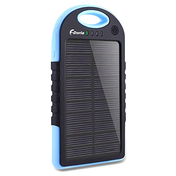 Cellphones & Telecommunications Free Ship 5000mah Portable Waterproof Solar Charger Dual Usb External Battery Power Bank For Cell Phone Accessories Usb Cable Convenience Goods
