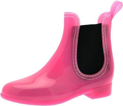 Lora Dora Chelsea Boots imperméables en Caoutchouc pour