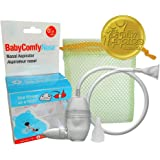 BabyComfy Nasal Aspirator - The Snotsucker - Hygienically & Safely Removes Baby's Nasal Mucus – Clear