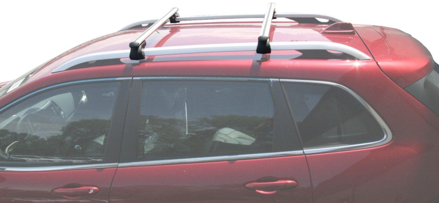 Amazon.com: BRIGHTLINES 2014 2017 Jeep Cherokee Cross Bars Roof Luggage Bars  Roof Racks: Automotive