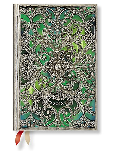Paperblanks 2018 Esmeralda Mini day-at-a-time planificador ...