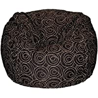 Ahh! Products Time Loop Washable Bean Bag, Black, Large