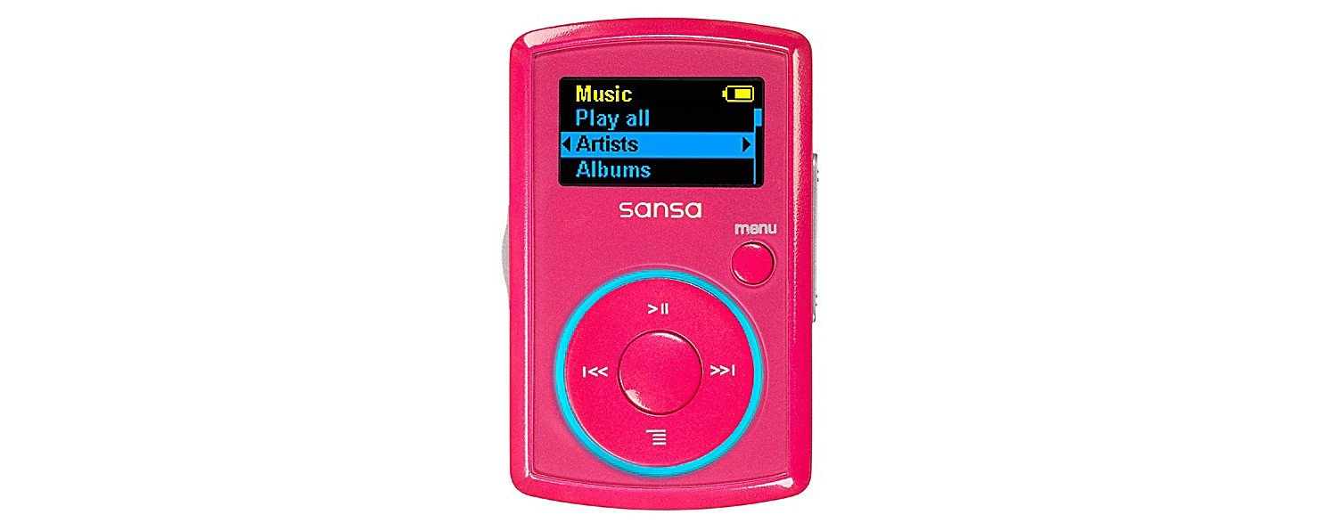 Amazon.com: SanDisk Sansa Clip 2 GB MP3 Player (Red) (Discontinued by  Manufacturer): Home Audio & Theater