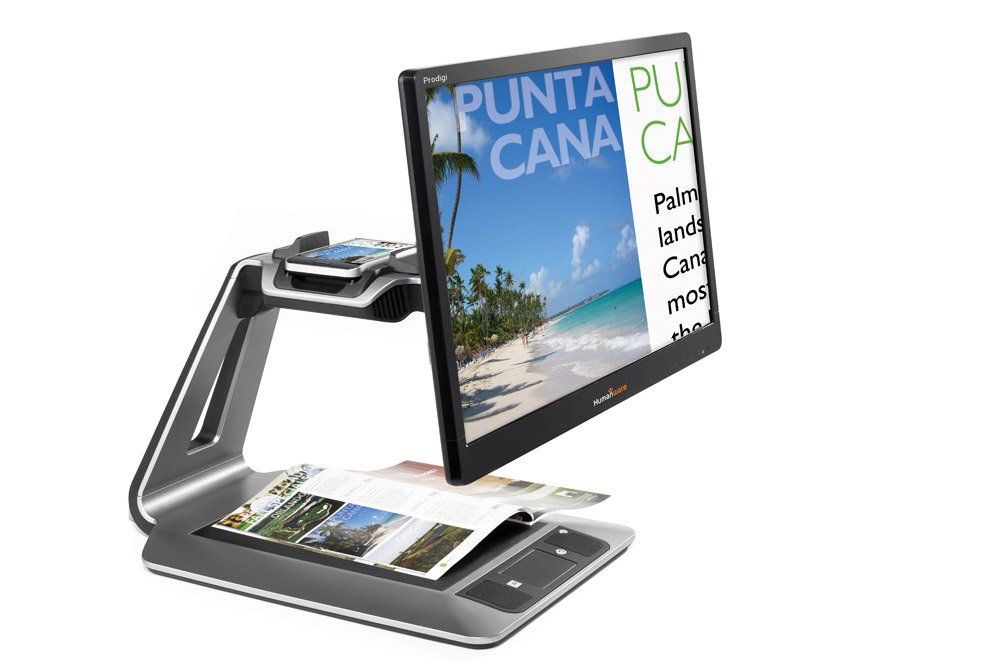 HumanWare Prodigi Duo 2 in 1 electronic magnifier 24 in